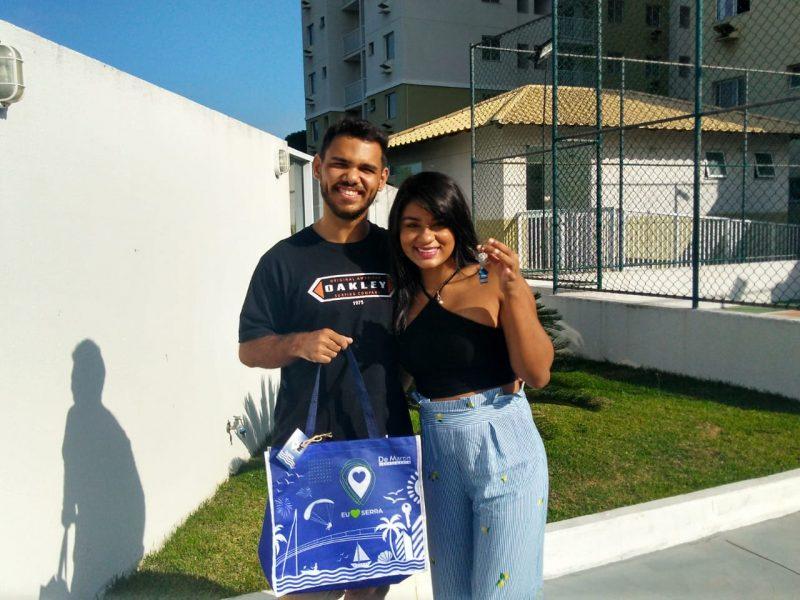 Entrega das chaves do Enseada Jacaraípe Residencial Clube