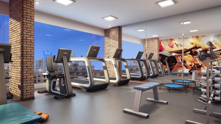 Academia no residencial: praticidade, segurança e economia pra praticar exercícios