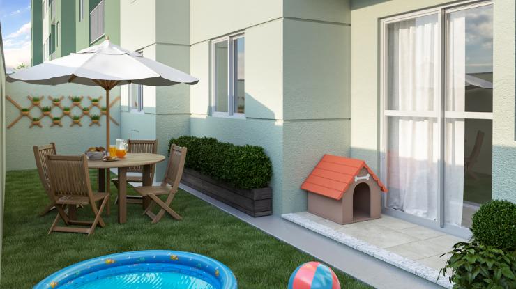 Aumenta a procura por apartamentos com quintal privativo